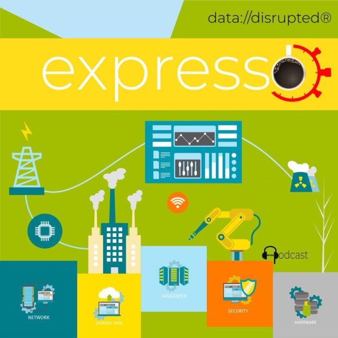 Beitragsbild data://express 0012: Digitaler Zwilling